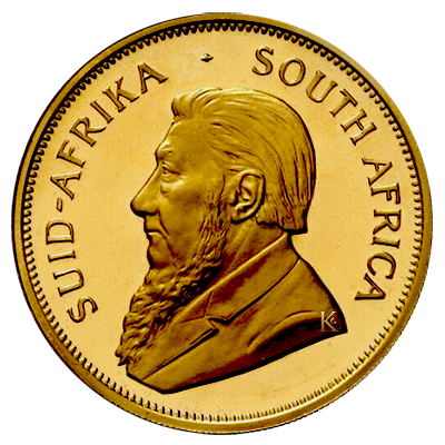 Krugerrand 1 troy ounce Paul Kruger