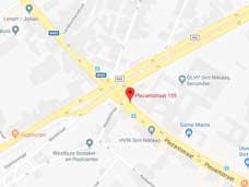 Plan uw route naar Sint-Niklaas