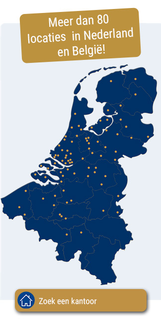 Locaties in Nederland & België
