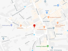 Plan uw route naar Roeselare